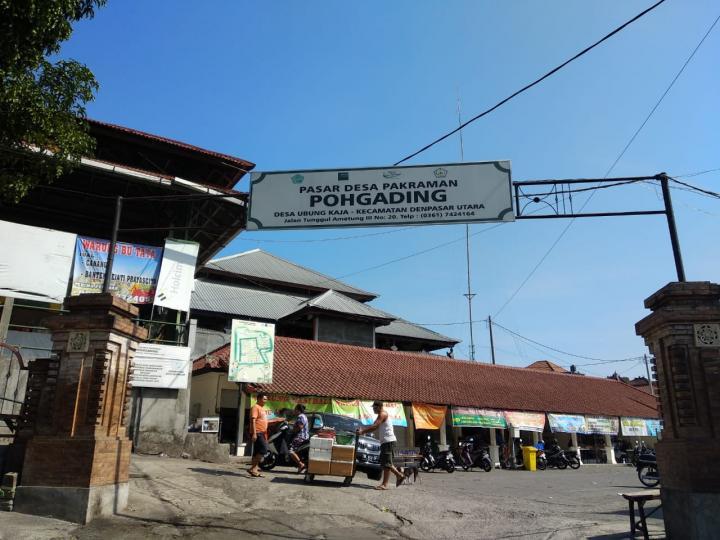 Pasar Desa Pekraman Ubung Kaja